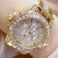 Designer Luxus Marke Uhren Mode Frauen mit Diamant Damen Top Casual Damen Armband Kristall ES Relogio Feminino