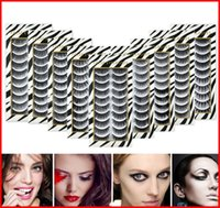 10 Pairs Multipack Faux 3D False Eyelashes Handmade Wispy Fl...