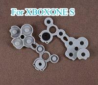ل Xbox One S XBoxone Slim Controller Gamepad Joypad سيليكون