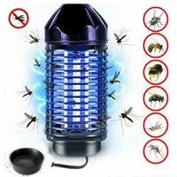 Mosquito assassino lâmpada de pest de controle de pragas voar armadilha elétrica dispositivo inseto apanhador automático matando pests anti armadilhas UE / EUA plug Navio oceânico