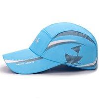 Best Shade Men And Women Spring Mesh Snapback cap Quick Dry Summer Sun Hat Bone Breathable hats Casual casquette Mesh Men Baseball Caps