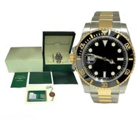 With Box men watch 40mm 116610 Mechanical automatic watchs Ceramic bezel Sapphire watches Glide buckle 2813 movement watchess wristwatch