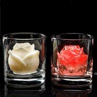 Gül Çiçek Buz Kalıp Bar Ürünleri Silikon El Yapımı Sabun Yapma Küp Çikolatalı Kek Bankacılık HWB8346