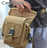 ركوب حقيبة الساق الخاصة أسلحة أسلحة للماء الرياضة الرياضة العسكرية الخصر حزمة قطرة فائدة الفخذ الحقيبة بارد الأزياء LJ200930