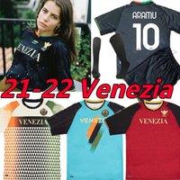 21/22 Venezia FC Fussball Jerseys Startseite Dritter Vierter Aramu Forte Fiordilino Peretz Heymans Tessmann Crnigoi 2021 2022 Mariano Johnsen Venedig Kits Socke Full Sets