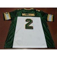 Custom 009 Jugendfrauen Vintage Edmonton Eskimos # 2 Gizmo Williams Football Jersey Größe S-5XL oder benutzerdefinierte JEDE NAME ODER NUMMER JERSEY