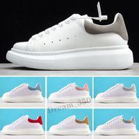 2021 modelos de desenhista homens sapatos de fashion plataforma reflexiva de couro esportes homens chaussures sneakers 36-45