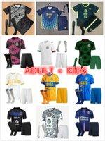 Kits Kid Kits Liga MX 21 22 Club America Soccer Jerseys Leon Third 2021 2022 المكسيك Léon Tijuana Tigres Unam Chrivas Football Shirts