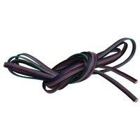 RGB 4-PIN تمديد سلك موصل كابل الحبل ل 3528 5050 rgb led قطاع الصمام diy طول