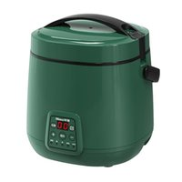 Rice Cookers 220V Mini Electric Cooker Multifunctional Non-Stick Home Appliance Kitchen Cooking Machine Steamer With Portable Handle