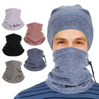 Winter Neck Warmer Cycling Scarf Outdoor Running Sports Headwear Face Bicycle Bandana Simple Fashion Men Cap Suit Caps & Masks