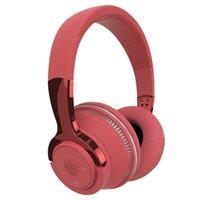 Headphone sem fio estéreo fone de ouvido estéreo fone de ouvido dobrável Animação de fone de ouvido mostrando suporte tf cartão built 3 5mm jack