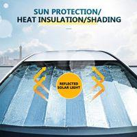 Universal Car Sunshade Sun Shade UV Protection Curtain Protector Interior Windshield Accessories