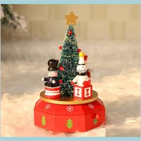 Christmas Decorations Festive & Party Supplies Home Garden Wooden Nutcracker Doll Puppet Figurines 4 Soldier Toy Music Box Decor Child