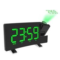 투영 알람 음성 이야기 시계 전자 디지털 프로젝터 시계 데스크 12 / 24 시간 온도 디스플레이 기타 시계 액세서리