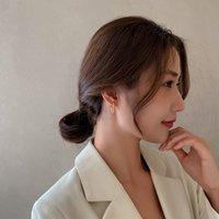 Fashion Creative Hook Earrings East Gate Fashion Temperament Color Men's and Women's Versatile Earrings