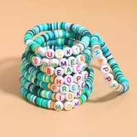 Beaded, Strands Vedawas Mom Letter Bracelet Women's Bohemian Handmade Colorful Beaded Folk-custom Bracelets Flod Wear Accessories Jewelry Gi
