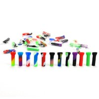 3.3 cm Disposable Silicone Filter Tips For Smoking Rolling Paper Tobacco Cigarette Holder Mini Hand Pipes