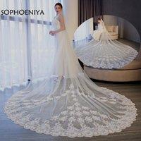 Bridal Veils Real Picture Casamento Veil 2021 Wedding Voile De Mariee Accessories Veu Noiva Velo Novia