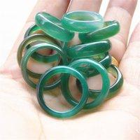 100% taille mélangée naturelle de haute qualité Jade anneau Birmanie Street Pick Color est plein de variation 2 758 Q2