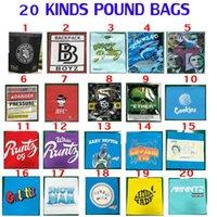 1 lb pound çanta 16 oz çerezler backpackboyz basınçlı sharklato para bagg koku geçirmez ambalaj obama runtz paketi çanta kolay doldurma NKDD