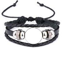 Веревочные браслеты для сублимации моды пустые браслеты ювелирные изделия для термической передачи стиль печати ювелирные изделия оптом 210609