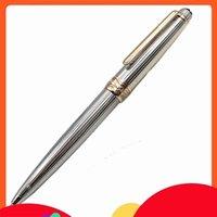 أعلى درجة 163 AG925 م Meister خطوط فضية معدنية حبر جافت الكرة القلم اللوازم الثابتة A +
