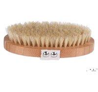 Aveiro newnatural javali corfoco corporal escova de bambu escovas eco-friends remover morto pele chuveiro banho massagem spa com rebite sem identificador ewd63