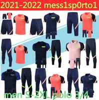 2020 Fussball Training Anzug 20/21 Polo 3/4 Langarmtrainingsanzug Sleeve Kurze Ärmel Fußballanzug 3/4 Chandal Futbol Größe S-2XL