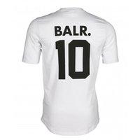 Размер женщины 2019 евро Slim Balr 10 футболка мужчина с коротким рукавом футболка хит одежда круглая нижняя длинная спина