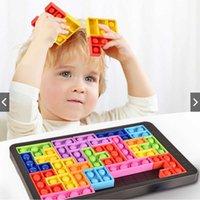 Cross Border Silica Gel Bubble Rat Exterminator Tetris Block Puzzle Board Game Puzzle Relief Toy Party Favor