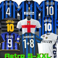 Inter Finals Soccer Jerseys 2009 2010 Milito Batistuta Sneijder Zanetti 10 11 02 03 08 09 밀라노 레트로 Pizarro Football 1997 1998 97 98 99 Djorkaeff Baggio Ronaldo
