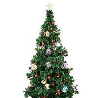 4cm 5cm 6cm 7cm 8cm 9cm 10cm 명확한 플라스틱 충전 볼 장식 싸구려 크리 에이 티브 크리스마스 트리 장식 공 장식품 1041 B3