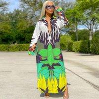 Ethnische Kleidung Afrikanische Hemd Bluse Kleider für Frauen Dashiki Robe Afrikaner Femme Slim Abend Lange Maxi Kleid Kleidung