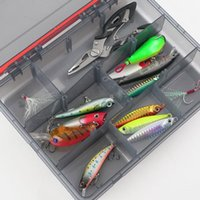 Fishing Accessories Tool Storage Box Case Lure Spoon Hook Bait Tackle Holder Pesca