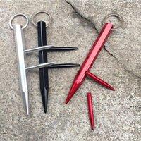 Persönliche Selbstverteidigungsstock Keychain-Party Favorie für Frauen Männer EDC defekte Fenster Maschine Notfall-Escape-Werkzeug Auto Glasbrecher FWF6149