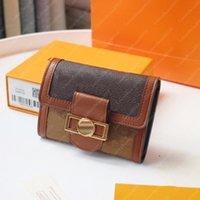 Dauphine Çantalar Kadın Cüzdan Mini Cüzdan Marka Deri Çanta Moda Kredi Kartı Debriyaj