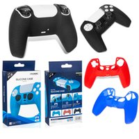 100% Original DOBE Silicone Cover Case For PS5 Handle Colorful Dustproof Sweat-Proof Protective Anti-Slip Sleeve For PlayStation GamePads Game Controller DHL