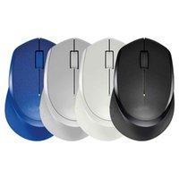 M330 Mouse inalámbrico silencioso de 2.4GHz Ratones ópticos USB 1600DPI para Office Home usando PC Laptop Gamer con batería AA y caja de ventas de inglés