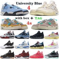 2021 Sail Black Cat Shoes Bred jorden Jumpman 4 4s Guava Ice Twist White Cement What The Mens Basketball Travis Scotts Obsidian UNC Fearlesssneakerv2