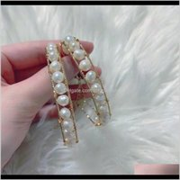 أساور أخرى مجوهرات قطرة التسليم 2021 الأزياء اللؤلؤ النسائية تصميم بسيط تنوعا سوار الأنوثة للملحقات على الانترنت شو