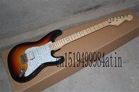 2021 Standard Stratocaster HSS Electric Brown Sunburst w  TKL guitar