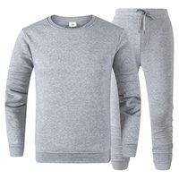 Vêtements de haute qualité Mens Tracksuit Sportswear Men's Jogging Costumes Sweats Sweats Sweats Spring Automne Sweat-shirt occasionnel Set Vêtements