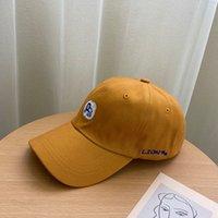 2021 cappello han edizione marea femminile cartone animato ricamato caps in logo popolare logo giapponese adorabile temperamento studenti berretto da baseball in estate