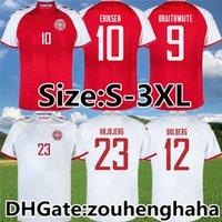 Dinamarca Eriksen Fútbol Jerseys 2021 22 Hogar lejos Dalsgaard Possl Strger Yury Schmeichel Kjaer Christensen Skov Delaney Braithwaite DBU Camisa de Fútbol Tamaño: S-3XL