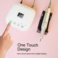 35000RPM Electric Nail Drill Machine HD Display Touch Control Manicure Milling Tool Professional Nails Polishing Equipment Beauty Salon Tips Polisher