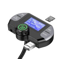Bakeey G21 3.1A QC3.0 Dual USB Output DAB-Digital bluetooth 4.2 Signal TF Card U Disk Multi-Function Car Charger for Samsung S10 for iPhone 11 Pro Max Tablet