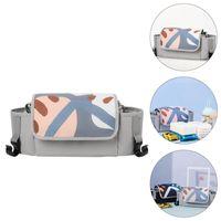 Diaper Bags Waterproof Mummy Bag Nylon Stroller Handlebar Baby Supply Organizer