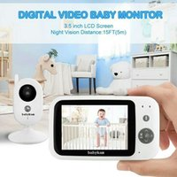 Babykam Babyphone Camera Vigilabebes 3.5 Inch IR Night Vision Intercom Lullaby Temperature Sensor Baby Phone Vigila Bebe Monitors