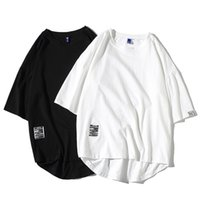 Men's T-Shirts Men T Shirt Hip-Hop Cotton T-shirt O-neck Nice Summer Japanese Style Oversized Male Causal Tshirts 5XL Fashion Loose Tees